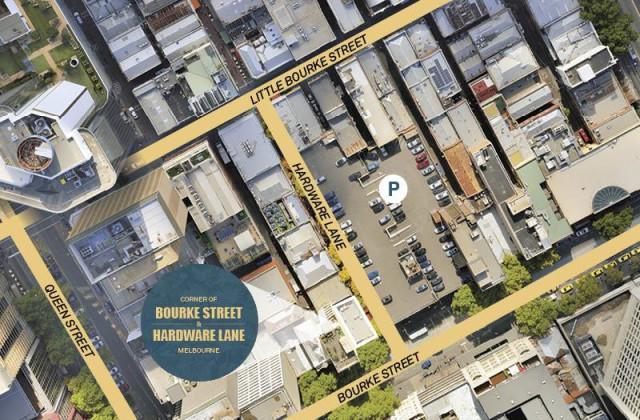 Cnr Bourke Street & Hardware Lane, MELBOURNE VIC, 3000
