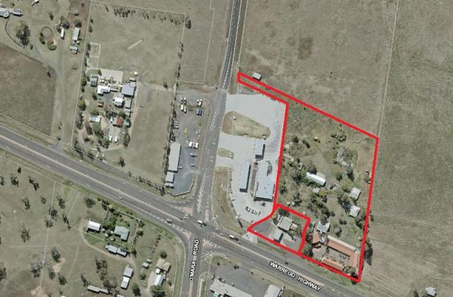 - Warrego Highway & Stegers Road, CHARLTON QLD, 4350