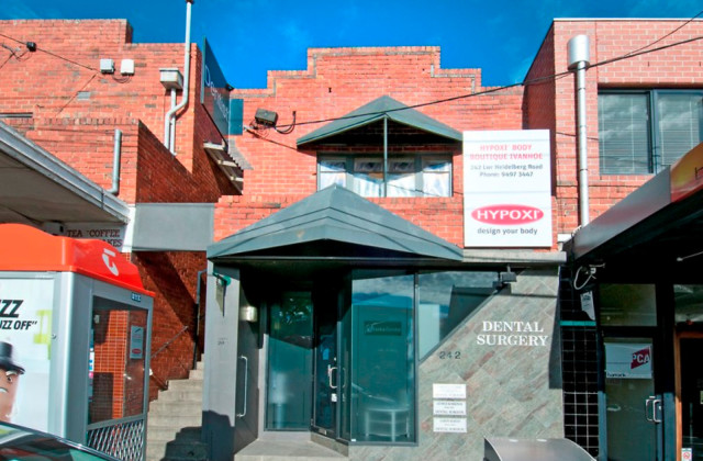 1st Floor/242 Lower Heidelberg Road, IVANHOE EAST VIC, 3079