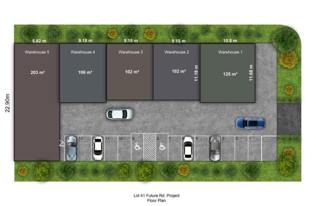 1-5/21-23 (Lot 41) Futures Road, CRANBOURNE WEST VIC, 3977