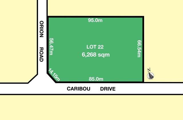 Lot 22 Caribou Drive, DIREK SA, 5110