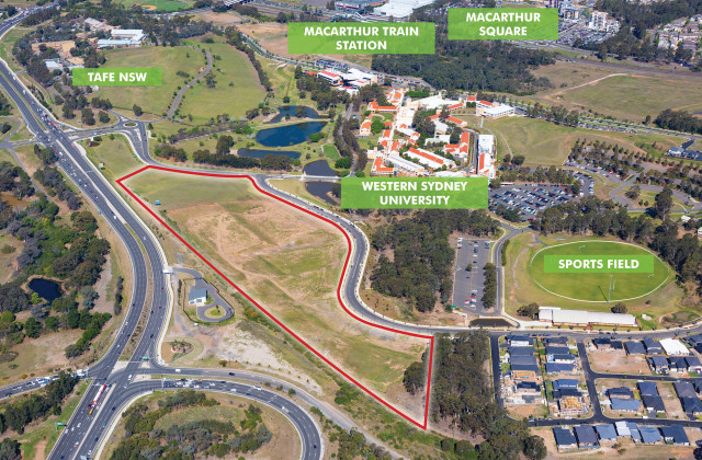 LOT Stage 6 'Macarthur Heights' / 1 University Drive, CAMPBELLTOWN NSW, 2560