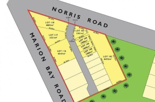 Marion Bay Road & Norris Road, MARION BAY SA, 5575