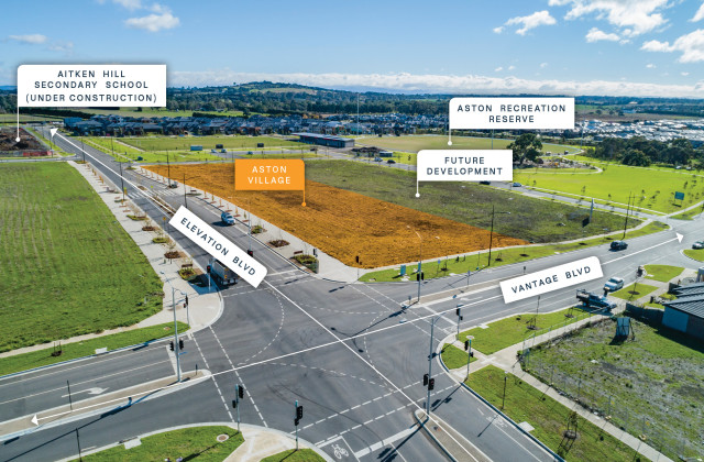 Corner Elevation and Vantage Boulevard, CRAIGIEBURN VIC, 3064