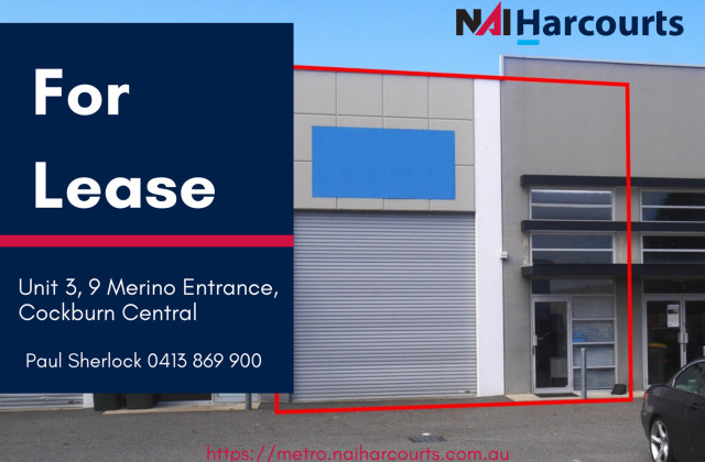 3/9 Merino Entrance, COCKBURN CENTRAL WA, 6164