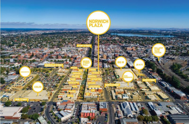 Retail Suites 1B-17/1-15 Bridge Mall Norwich Plaza, BALLARAT CENTRAL VIC, 3350