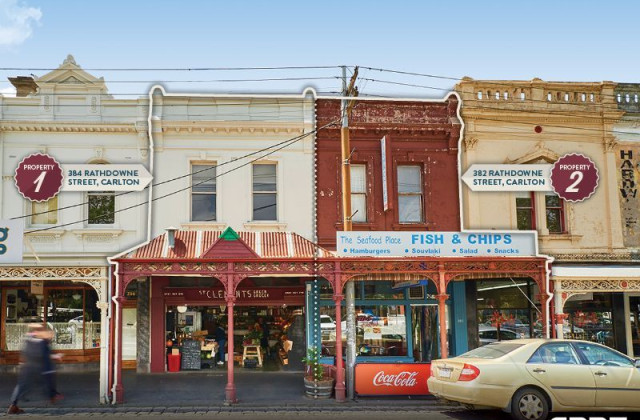 382 & 384 Rathdowne Street, CARLTON NORTH VIC, 3054