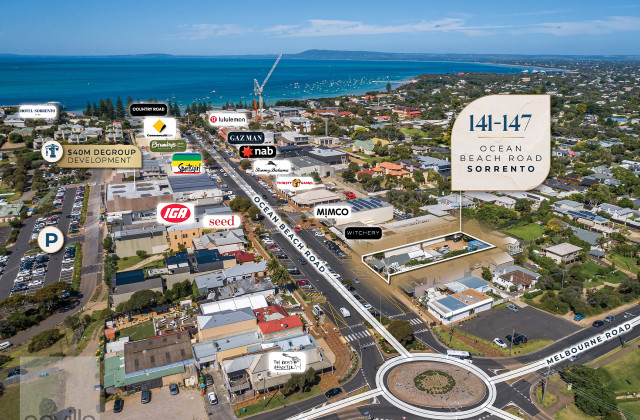 141-147 Ocean Beach Road, SORRENTO VIC, 3943