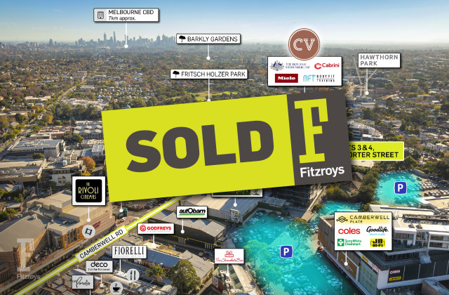 Lots 3 and 4/1 Porter Street, CAMBERWELL VIC, 3124